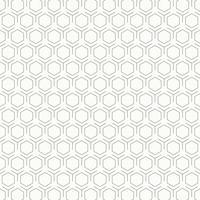 Fundo preto e branco do projeto do teste padrão do hexágono do vintage abstrato. ilustração vetorial eps10