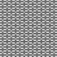 Fundo geométrico preto e branco abstrato do teste padrão da arte op. vetor