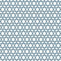 Padrão de triângulo azul sem costura simples abstrato.