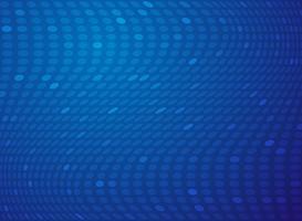 Fundo azul da tecnologia da malha do ponto do inclinação abstrato. vetor