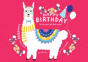 Feliz Aniversário Animais Vol 3 Vector