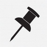 ícone de alfinete vetor