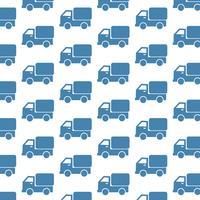Fundo de padrão de caminhão de carro vetor