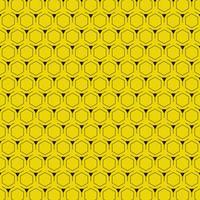 Fundo amarelo abstrato com design moderno do teste padrão do hexágono. ilustração vetorial eps10