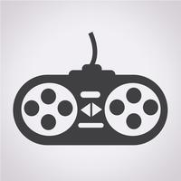 ícone do controlador de jogo
