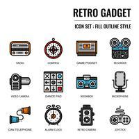 ícone de gadget retrô