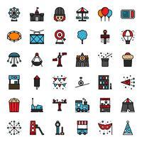 ícone do parque de diversões