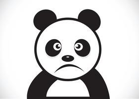 Personagem de desenho animado Panda vetor
