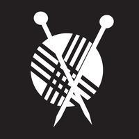 tricô ícone símbolo sinal vetor