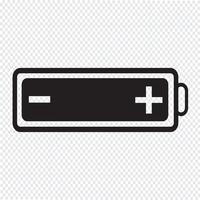 ícone de bateria da web vetor