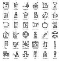 ícone de equipamento de café