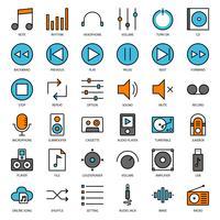 interface de usuário de música