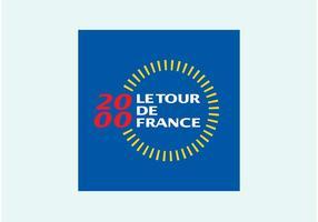 2000 tour de france vetor