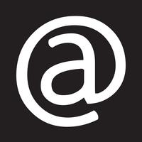 ícone de símbolo de e-mail vetor