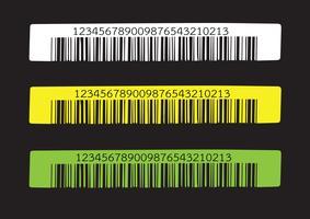 Código de barras. ilustração vetor