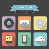 aparelho de música retro