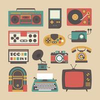 ícone de gadget antigo