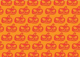 Fundo de abóbora de Halloween vetor