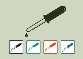 Conjunto de ícones de equipamento de laboratório