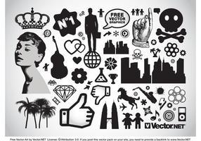 Pacote de vetores de elementos de design
