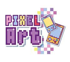 Conceito de arte pixel vetor