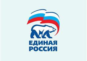 Rússia Unida vetor
