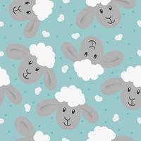 Textura sem costura Padrão de crianças s. Pode ser usado para tecido, papel de parede