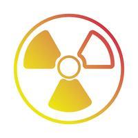 linha enegy perigo poder perigoso símbolo vetor