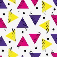 projeto de fundo de figura geométrica de cor vetor
