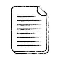 figura informação de documento empresarial para informação corporativa