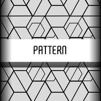 design de fundo gráfico padrão sem emenda vetor