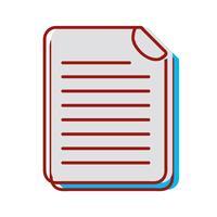 informações de documentos comerciais para informações corporativas