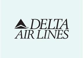 Linhas Aéreas Delta vetor