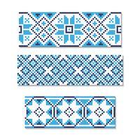 Ilustração do vetor do ornamento ucraniano sem emenda. Para papel de parede, têxteis, cartões