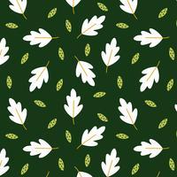 Folhas, padrão, de, outono vetor