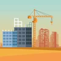 desenho de site de construção