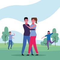 avatar de casal dançando