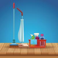 desenho de limpeza de limpeza vetor