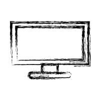 imagem de ícone de computador vetor