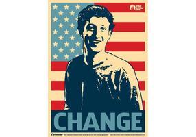 Mudança do Facebook vetor