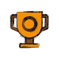 ícone de taça de troféu