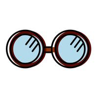 ícone acessório de óculos vetor