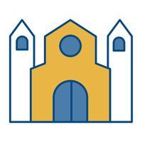 ícone da igreja vetor