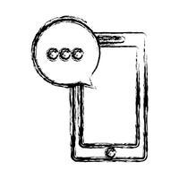 ícone do dispositivo de smartphone vetor