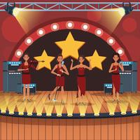 Banda de música dos desenhos animados