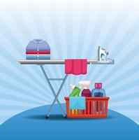 material de limpeza e kit de limpeza