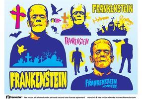 Gráficos frankenstein vetor