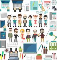 conceito de negócio design moderno infográfico