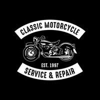Emblema da motocicleta e logotipo, bom para impressão