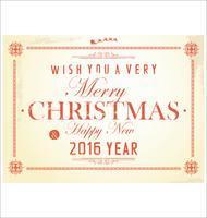Conjunto de etiquetas de presente de Natal vetor